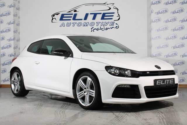 USED 2012 62 VOLKSWAGEN SCIROCCO 2.0 R 3d 265 BHP CANDY WHITE SCIROCCO R 265BHP + BIG SPEC + LOW MILES!