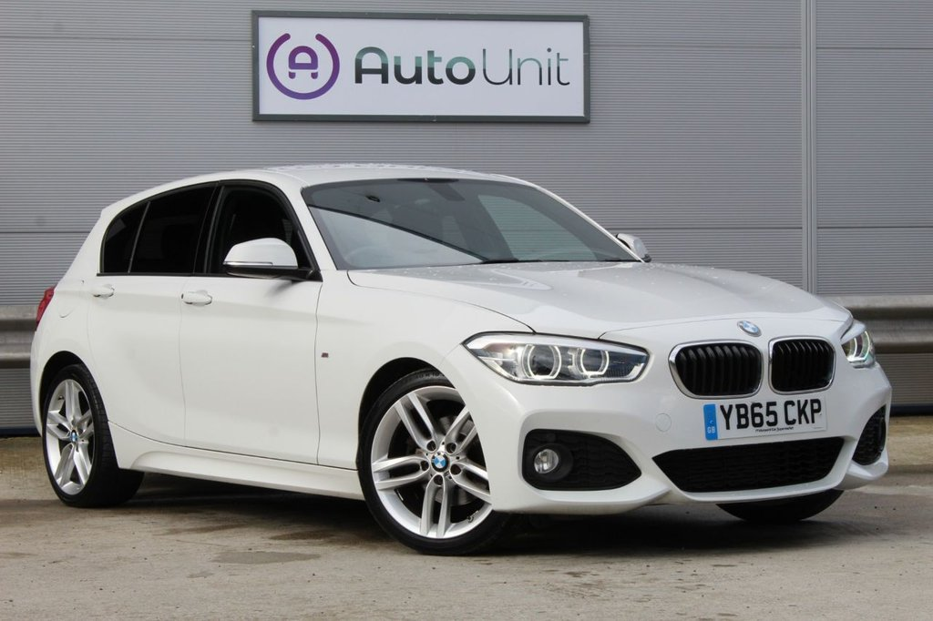 USED 2015 65 BMW 1 SERIES 1.6 120I M SPORT 5d 167 BHP ~ FULL SERVICE HISTORY | SAT NAV | CRUISE | LED HEADLIGHTS FULL SERVICE HISTORY | SAT NAV | DAB RADIO | BLUETOOTH INC AUDIO  | HEATED LEATHER