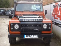 USED 2015 65 LAND ROVER DEFENDER 110 2.2 TD ADVENTURE STATION WAGON 5d 122 BHP ADVENTURE 110 SPECIAL EDITION,FULL LAND ROVER SERVICE