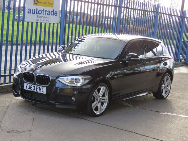USED 2013 63 BMW 1 SERIES 2.0 120D XDRIVE M Sport 5dr Full leather Cruise Heated seats Privacy Finance arranged Part exchange available Open 7 days