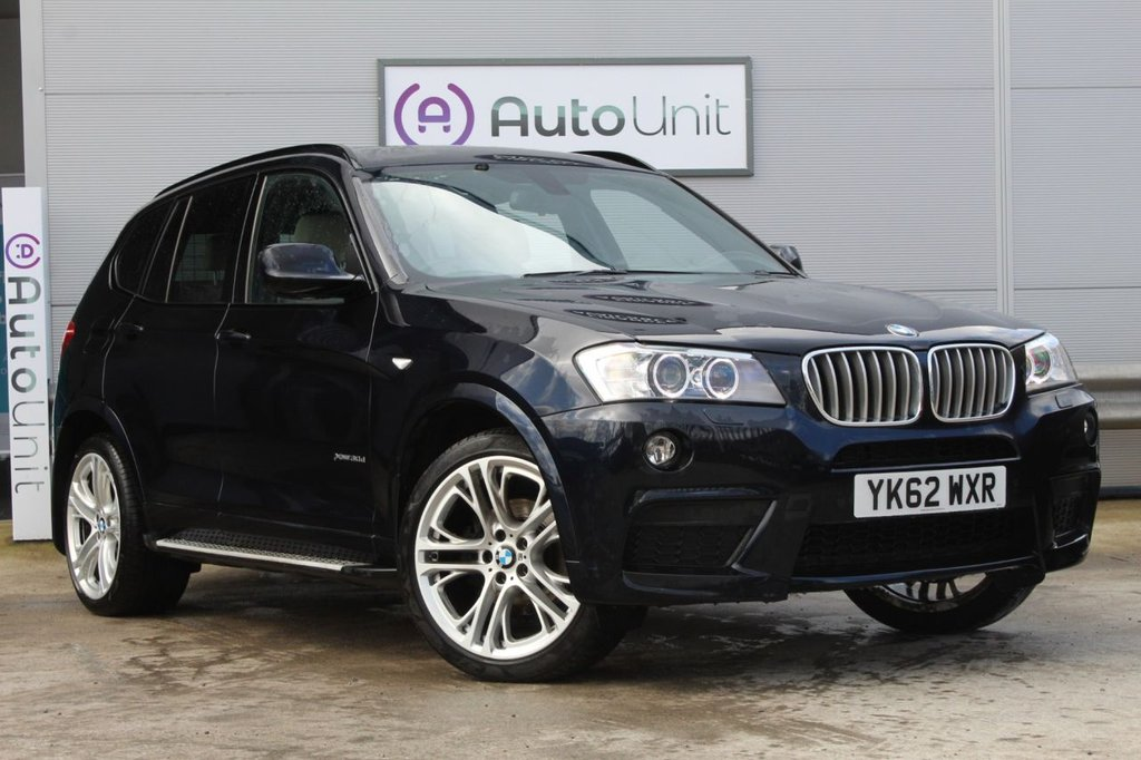 USED 2012 BMW X3 3.0 XDRIVE30D M SPORT 5d 255 BHP ~ FULL BMW HISTORY & FULLY LOADED  FULL BMW HISTORY   VISIBILITY PACK   ELECTRIC TAIL GATE   LEATHER   XENONS