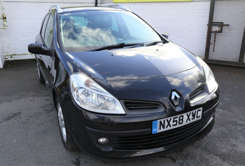 USED 2008 58 RENAULT CLIO 1.1 EXPRESSION 16V 5d 75 BHP * HPI CLEAR - FULL HISTORY *