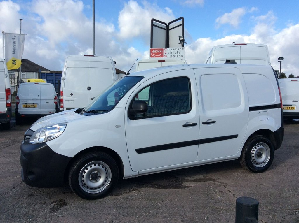 USED 2016 66 RENAULT KANGOO SWB 1.5 ML19 BUSINESS ENERGY DCI 90 BHP EURO 6 1 OWNER FSH NEW MOT  FREE AA WARRANTY INCLUDING RECOVERY AND ASSIST NEW MOT EURO 6 SPARE KEY ECO MODEL ELECTRIC WINDOWS AND MIRRORS BLUETOOTH