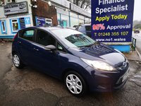 2009 FORD FIESTA 1.2 STYLE 5d 81 BHP, only 52000 miles £3795.00
