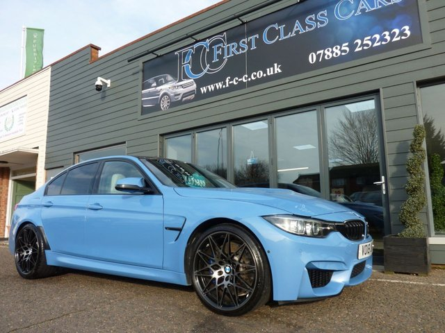 2018 18 BMW M3 3.0 M3 COMPETITION PACKAGE 4d 444 BHP
