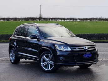 2015 VOLKSWAGEN TIGUAN 2.0 R LINE TDI BLUEMOTION TECHNOLOGY 4MOTION 5d 148 BHP £13850.00