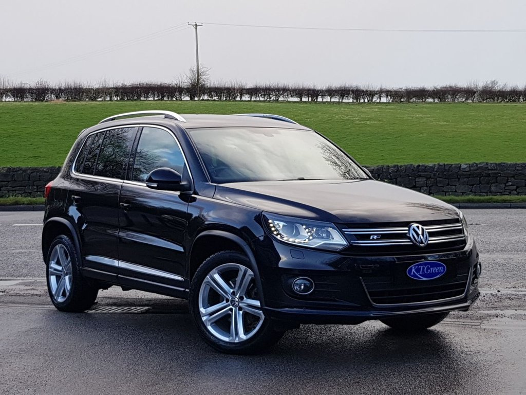 USED 2015 65 VOLKSWAGEN TIGUAN 2.0 R LINE TDI BLUEMOTION TECHNOLOGY 4MOTION 5d 148 BHP VERY CLEAN EXAMPLE, ONE OWNER, FULL HISTORY