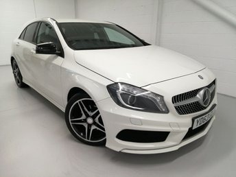 2013 MERCEDES-BENZ A-CLASS 1.6 A200 BLUEEFFICIENCY AMG SPORT 5d 156 BHP £10390.00