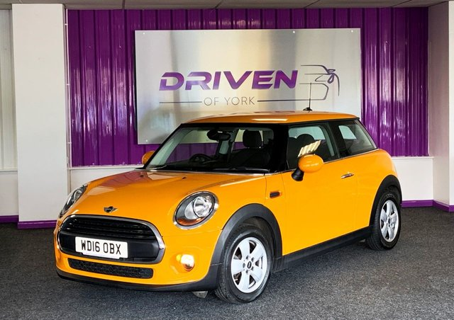 2016 16 MINI HATCH ONE 1.5 ONE D 3d 94 BHP