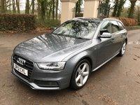 2012 AUDI A4 2.0 AVANT TDI S LINE 5d 174 BHP £7289.00
