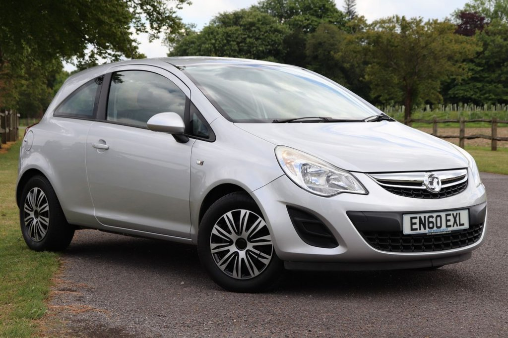 USED 2011 60 VAUXHALL CORSA 1.4 EXCLUSIV AC 3d 98 BHP Parking Aid+Recently Serviced + Fsh