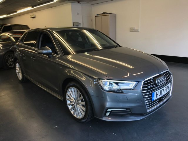 USED 2017 17 AUDI A3 1.4 SPORTBACK E-TRON 5d 101 BHP FULLY PREPARED , VERY HIGH SPECIFICATION, RAC BREAKDOWN/WARRANTY, LOW RATE FINANCE AVAILABLE