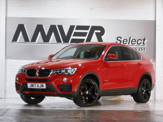 2017 17 BMW X4 2.0 XDRIVE20D SE 4d 188 BHP