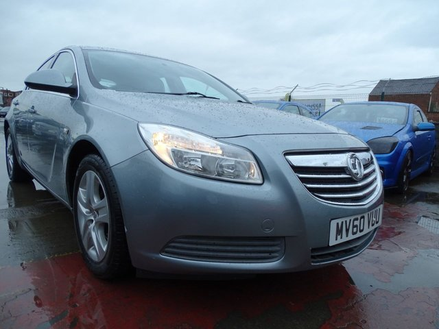 USED 2010 60 VAUXHALL INSIGNIA 2.0 EXCLUSIV CDTI 5d 158 BHP VERY CLEAN