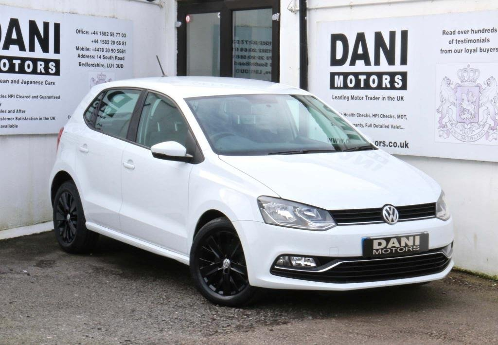 USED 2015 15 VOLKSWAGEN POLO 1.0 TSI BlueMotion Tech SEL (s/s) 5dr 1 OWNER*BLUETOOTH**DAB RADIO**