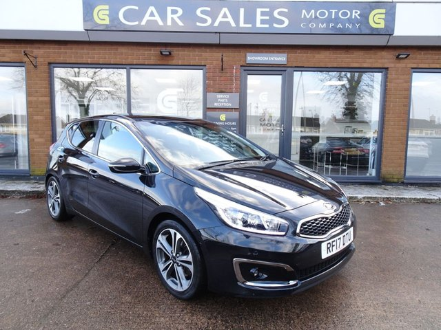 USED 2017 17 KIA CEED 1.6 CRDI 3 ISG 5d 134 BHP FULL KIA SERVICE HISTORY, 5 YEAR WARRANTY REMAINING, SAT NAV, REVERSE CAMERA, DAB RADIO, BLUETOOTH, 5 STAR RATED DEALERSHIP - BUY WITH CONFIDENCE!