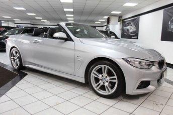 2015 BMW 4 SERIES 2.0 420D M SPORT AUTO 181 BHP £15975.00