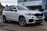 USED 2015 65 BMW X5 3.0 XDRIVE40D M SPORT 5d 309 BHP COMES WITH 6MTHS WARRANTY
