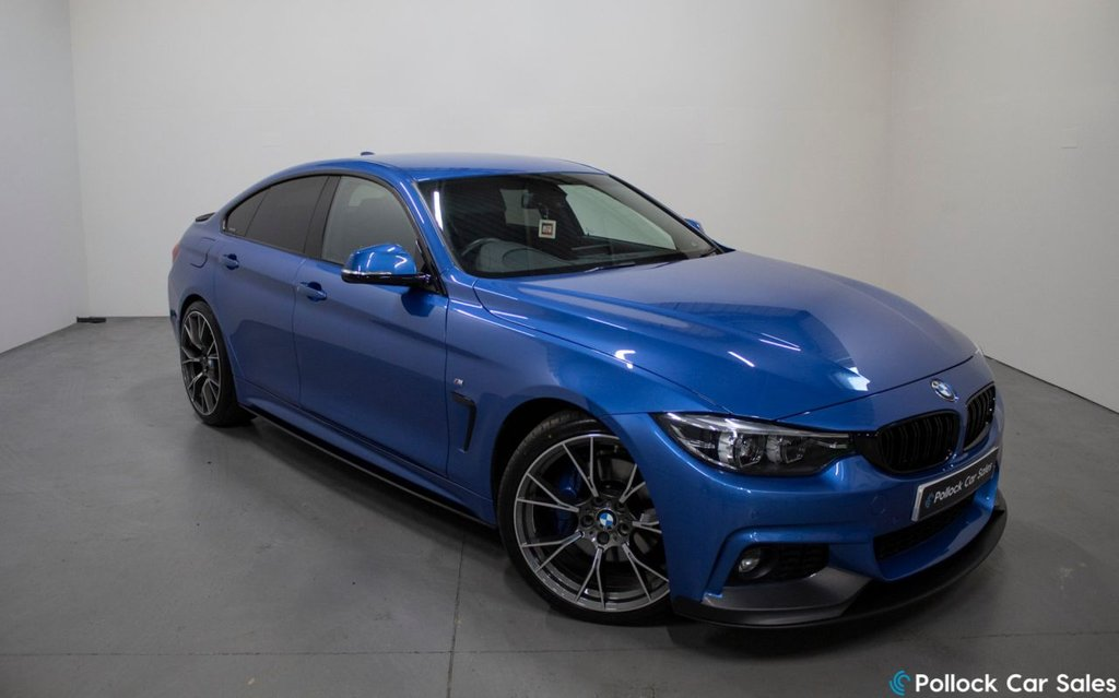 """USED 2017 17 BMW 4 SERIES 420D AUTO M SPORT GRAN COUPE 4d 190BHP M SPORT PLUS PACKAGE 20"""" Wheels Inc In Price, M Sport Plus Package, Brake Upgrade"""