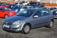 2007 VAUXHALL ASTRA 1.6 LIFE A/C 5d 115 BHP SOLD