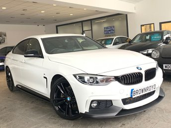 2019 BMW 4 SERIES GRAN COUPE 2.0 420D M SPORT GRAN COUPE 4d 188 BHP £21990.00