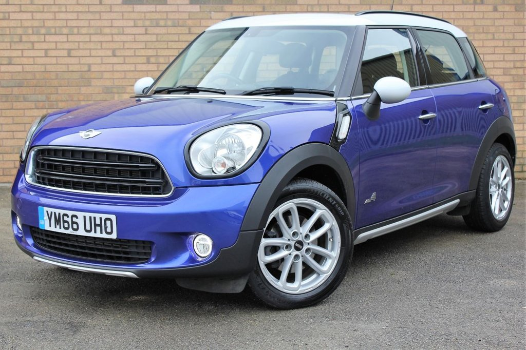 USED 2017 66 MINI COUNTRYMAN 2.0 COOPER D ALL4 5d 110 BHP