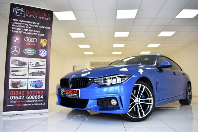 2018 18 BMW 4 SERIES 420I M SPORT GRAN COUPE