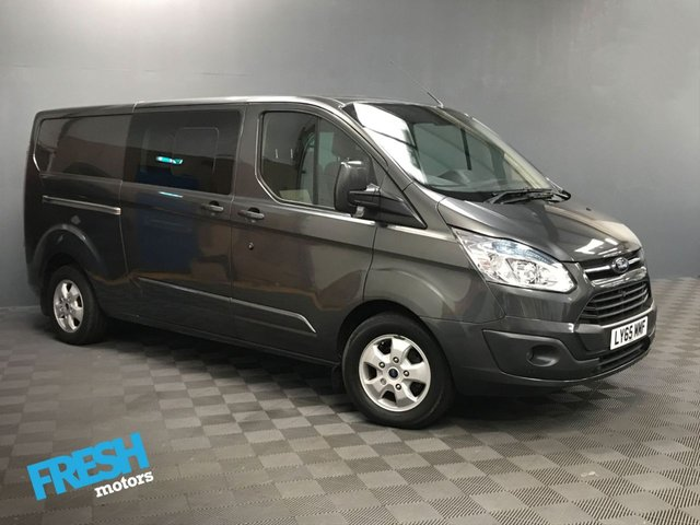 USED 2016 65 FORD TRANSIT CUSTOM 2.2 290 LIMITED L2H1 DCB  * 0% Deposit Finance Available