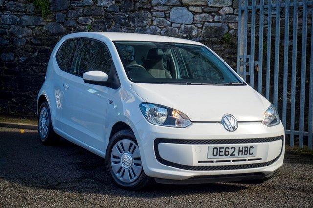 USED 2013 62 VOLKSWAGEN UP 1.0 MOVE UP 3d 59 BHP