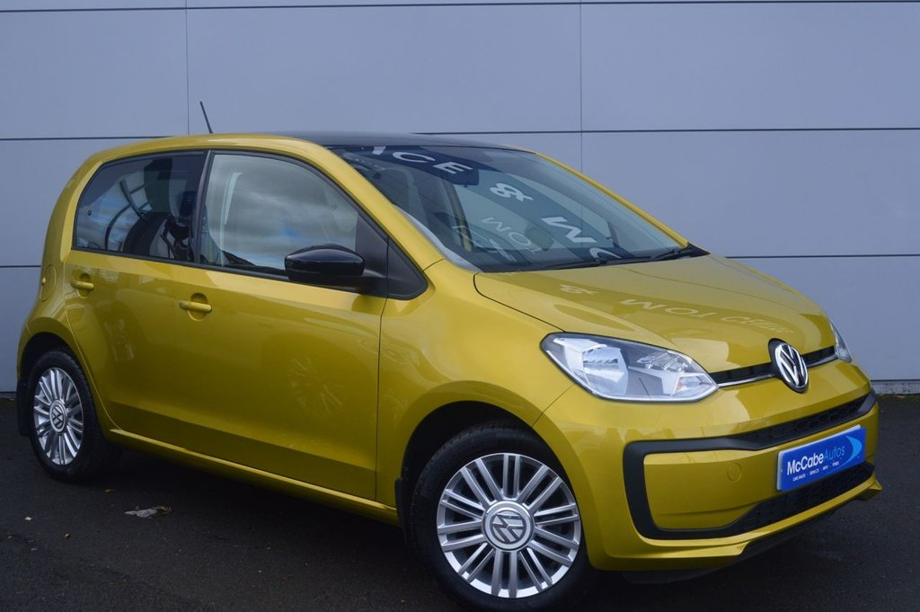 USED 2018 VOLKSWAGEN UP 1.0 MOVE UP 5d 60 BHP ONLY 9,000 MILES