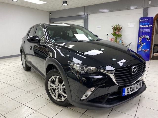 USED 2018 18 MAZDA CX-3 2.0 SE-L NAV 5d 120PS / AUTOMATIC ONE OWNER / ONLY 5310 MILES / SATNAV