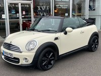 2015 MINI CONVERTIBLE 1.6 COOPER 2 DOOR CHILI PACK 122 BHP £6990.00