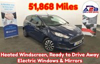 2014 FORD FIESTA 1.6 ECONETIC TDCI 95 BHP in Blue with 51,868 Miles, Aux & USB, Heated Windscreen, Electric Windows and more £4480.00
