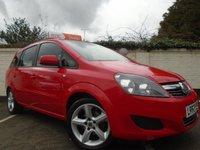 2012 VAUXHALL ZAFIRA 1.6 EXCLUSIV 5d 113 BHP £4699.00