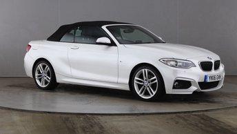 2016 BMW 2 SERIES 2.0 218D M SPORT 2d 148 BHP £13790.00