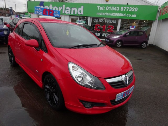 USED 2009 59 VAUXHALL CORSA 1.4 SXI A/C 16V 3d 90 BHP **ONLY 28,000 MILES FROM NEW **01543877320