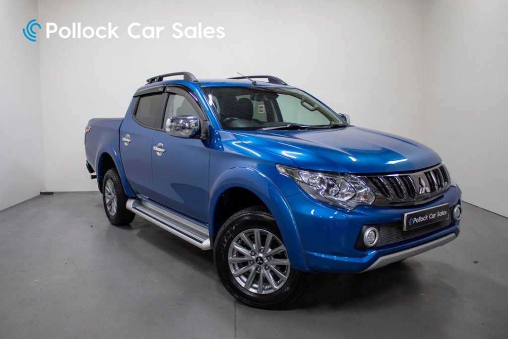 USED 2018 68 MITSUBISHI L200 BARBARIAN AUTO 178BHP 3.5T TOWING - NEVER TOWED 3.5 Tonne Towing, Never Towed, Roll & Lock Shutter