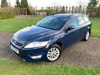 2012 FORD MONDEO 2.0 ZETEC TDCI 5d 138 BHP £4995.00
