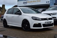 USED 2012 12 VOLKSWAGEN GOLF 2.0 R DSG 5d 270 BHP DSG AUTOMATIC LOW MILAGE SAT NAV FULl LEATHER TRIM  COMES WITH 6 MONTHS WARRANTY