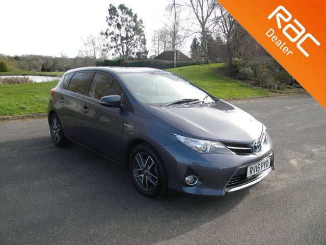 USED 2015 15 TOYOTA AURIS 1.8 VVT-I ICON PLUS 5d 98 BHP BY APPOINTMENT ONLY - Free To Tax, Heated Front Seats, Alloy Wheels, Reversing Camera, Sat Nav, DAB