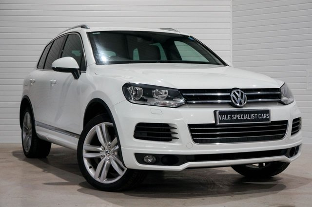 2013 62 VOLKSWAGEN TOUAREG 3.0 V6 ALTITUDE TDI BLUEMOTION TECHNOLOGY 202 BHP