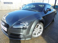 USED 2014 AUDI TT 1.8 TFSI S LINE 2d 158 BHP Excellent Condition, Brilliant Low Mileage, No Deposit Finance Available, Part Ex Welcomed