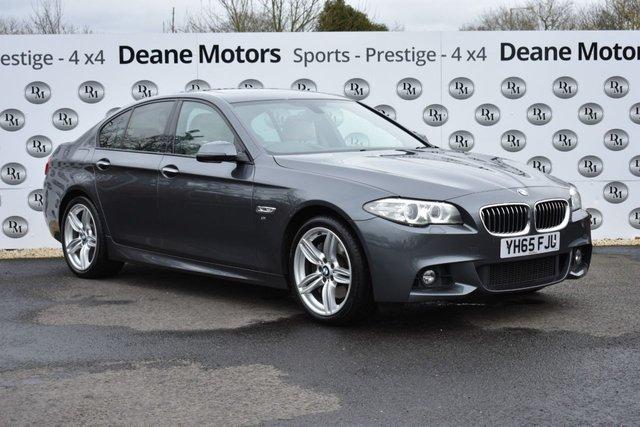 2015 65 BMW 5 SERIES 3.0 535D M SPORT 4d 309 BHP
