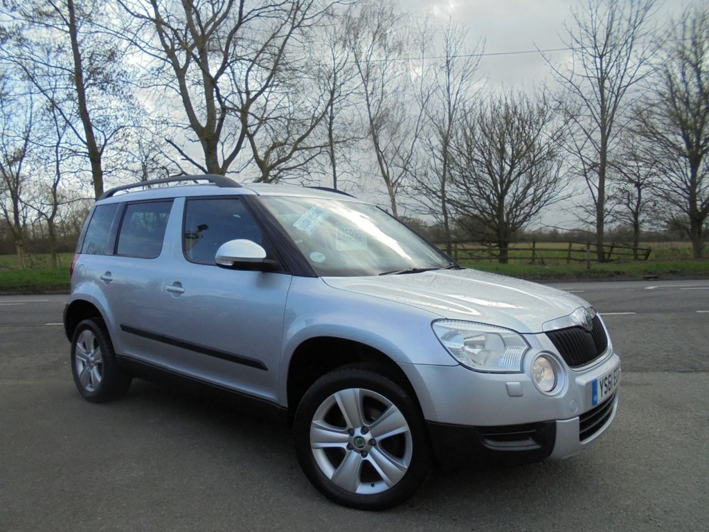 USED 2012 61 SKODA YETI 2.0 SE PLUS TDI CR 5d 109 BHP