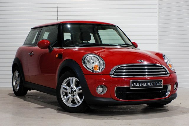 2012 62 MINI HATCH ONE 1.6 ONE D (Pepper Pack)