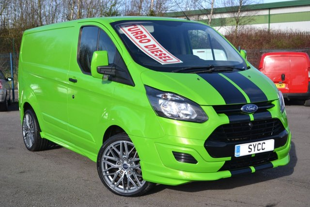 USED 2014 64 FORD TRANSIT CUSTOM 2.2 310 LR P/V M SPORT STYLING ~ 20