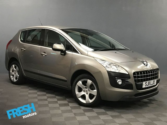 USED 2011 11 PEUGEOT 3008 1.6 SPORT HDI 5d  * 0% Deposit Finance Available