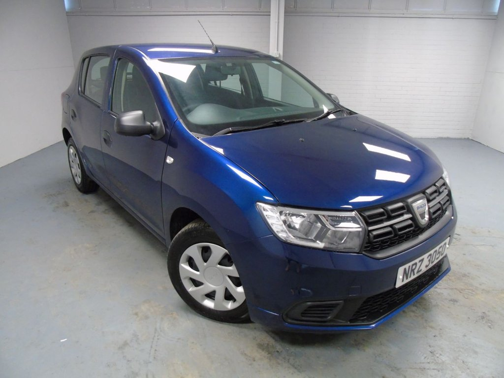 USED 2018 DACIA SANDERO 1.0 AMBIANCE SCE 5d 73 BHP £125 a month, T&C,s apply.