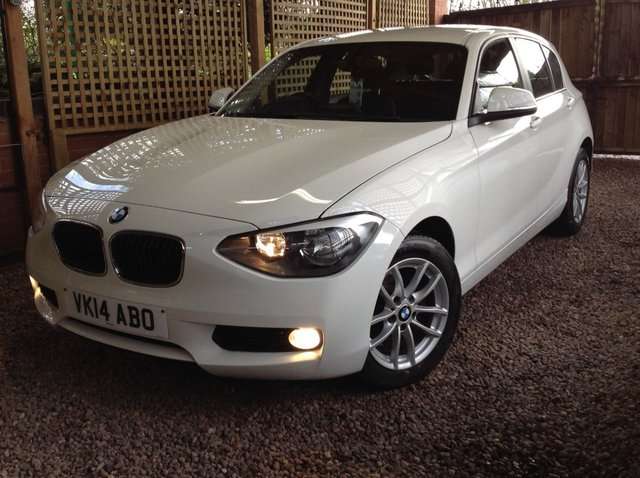 2014 14 BMW 1 SERIES 1.6 114I SE 5d 101 BHP