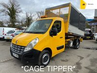 2012 RENAULT MASTER Cage Tipper 2.3 ML35 DCI L/R 145 BHP £5995.00